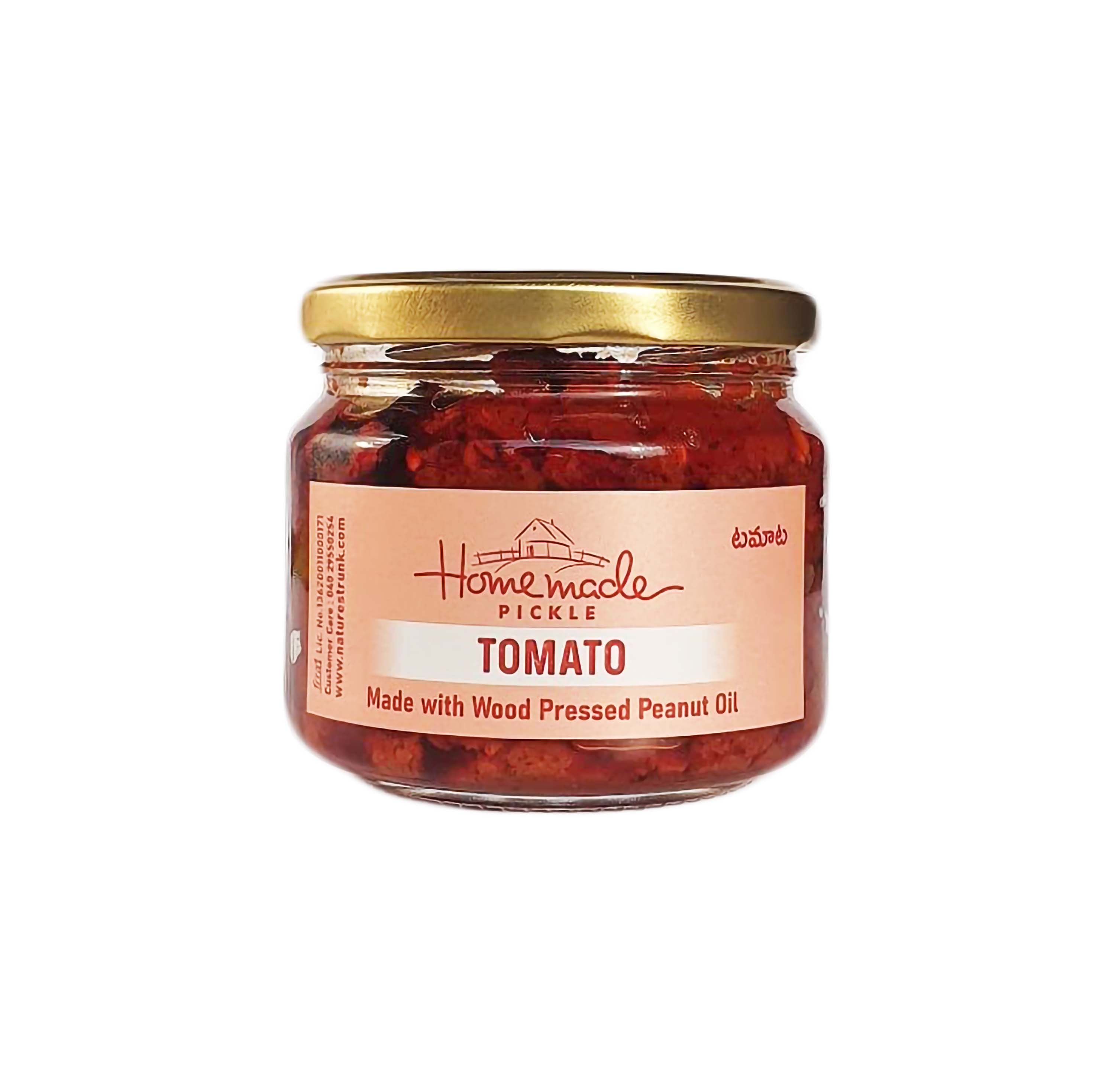 Nature's Trunk Homemade Tomato Pickle-300g